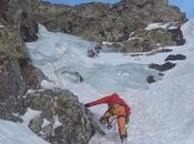 Escalada hielo Canal Roya