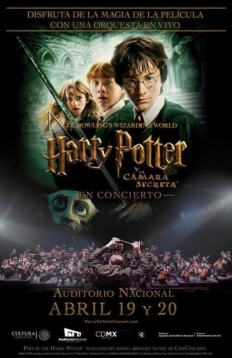 """Concierto de """"Harry Potter y la Cámara Secreta"""", en el Auditorio Nacional"""
