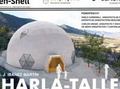 Taller sobre arquitectura sostenible cúpulas geodésicas Ibáñez Martín Lorca
