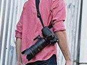 Libera cuello sufrimiento cuando sales hacer fotos