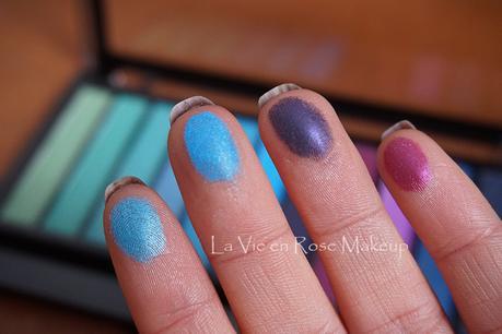 Paleta Mermaids Vs. Unicorns de Makeup Revolution y maquillaje
