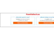 FamiliaFácil.es. portal para buscan ayuda doméstica.