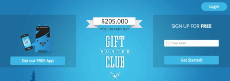 Gift Hunter Club. Ganar dinero