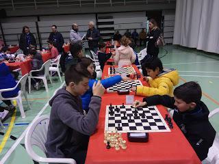 Juegos Escolares Ajedrez Caravaca de la Cruz 2018