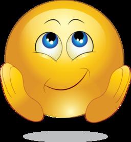 emoticon feliz. Fuente: http://www.i2clipart.com/clipart-yellow-wishing-happy-smiley-emoticon-04c8