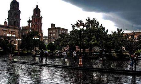 Se pronostican un fin lluvioso para San Luis Potosí este fin de semana