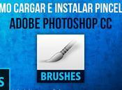Cómo Cargar Instalar Pinceles Adobe Photoshop