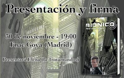 Presentación de BIÓNICO en Madrid