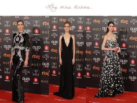 Los mejores vestidos de Los Goya 2018
