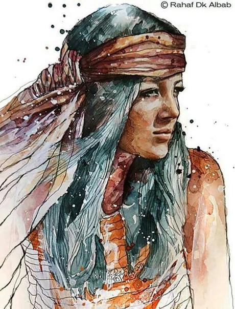 Ilustraciones de Rahaf Dk Albab
