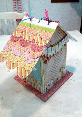 Album casita paperblog for Tejado madera hundido