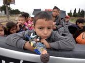 """""""Una niña niño migrante mayores expresiones desamparo"""""""