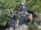 Aperitivo mimosas jardín secreto Mandarin Oriental Barcelona
