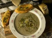 Crema champiñones, guarnición champiñones ajillo queso