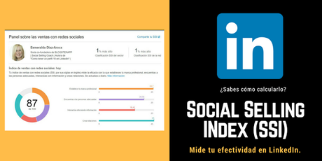 Social Selling Index-SSI-LinkedIn-Esmeralda Diaz-Aroca