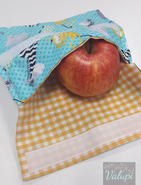 MIMI 6/18: Bolsa para snacks reutilizable