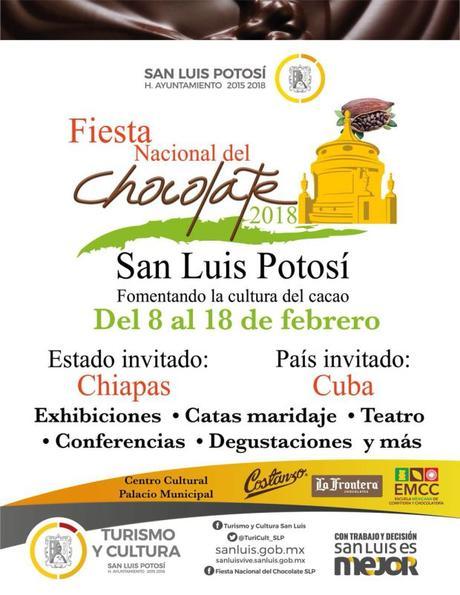 """Este jueves inicia """"La Fiesta Nacional del Chocolate"""""""