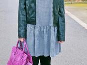 Vestido camisero cuadros vichy