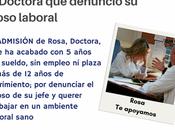Apoya campaña readmisión Doctora denuncio Acoso laboral