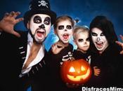 Disfraces Halloween infantiles para estos carnavales