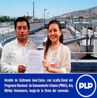 MUNICIPALIDAD DE QUILMANÁ Y MINISTERIO DE VIVIENDA FIRMAN CONVENIO…