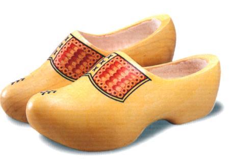 La historia de los zapatos holandeses