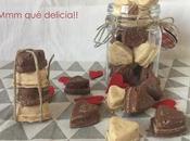 Rocas chocolate para valentín