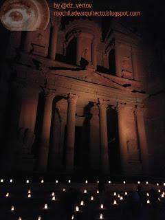 Petra con nocturnidad