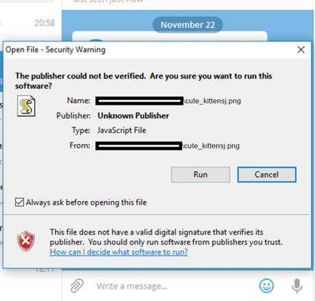 Usan Telegram para enviar un troyano que mina criptomonedas