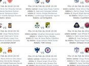 Guia jornada futbol mexicano clausura 2018