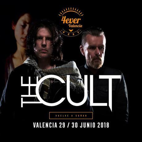 The Cult se apuntan al 4ever Valencia Fest 2018