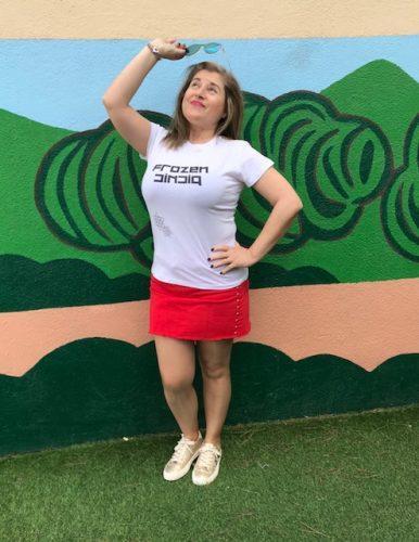 Frozen Picnic, camisetas italianas con mensajes molones