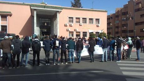 Nuevo aplazamiento del juicio a los estudiantes saharauis en Marrakech