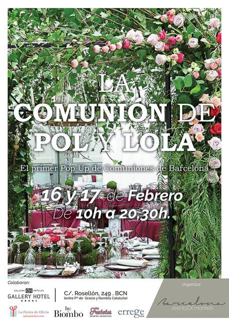 Primer market de comuniones en Barcelona