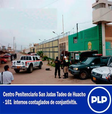 EPIDEMIA DE CONJUNTIVITIS  EN PENAL DE HUACHO…
