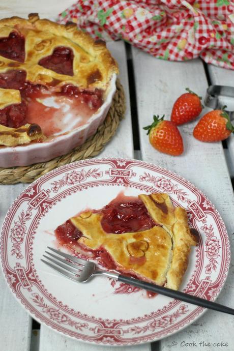 strawberry-pie, pie-de-fresas, san-valentin