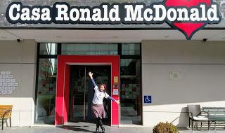 Visita a la Casa Ronald McDonald de Madrid.-