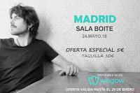 Concierto de Elías Serra en Boite Live