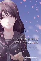 Byosoku go Senchimetoru - 5 Centímetros por Segundo - portada