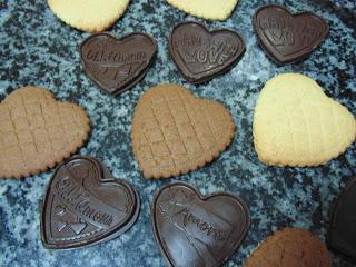 Galletas petit écolier para San Valentín