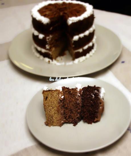 torta de chocolate 18 años