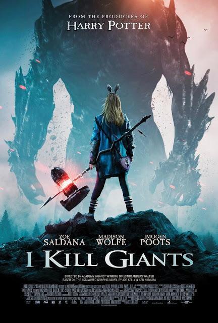De libro a película 2018: Se desvela el cartel promocional de la película Soy una matagigantes