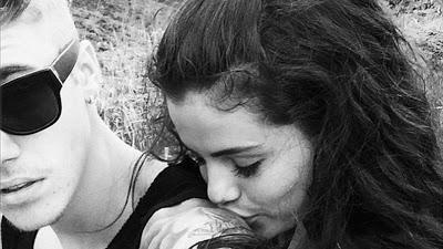 Justin Bieber con Selena Gomez ,amor, amor