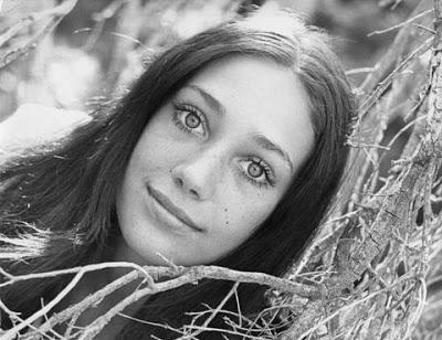 La Star Marisa Berenson  de cumpleaños