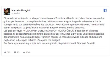 Dos hombres fueron víctimas de homofobia solo por besarse.