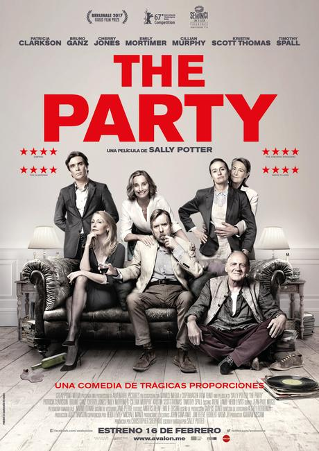 """Crítica   """"The Party"""", descacharrante, ingeniosa y sencilla"""