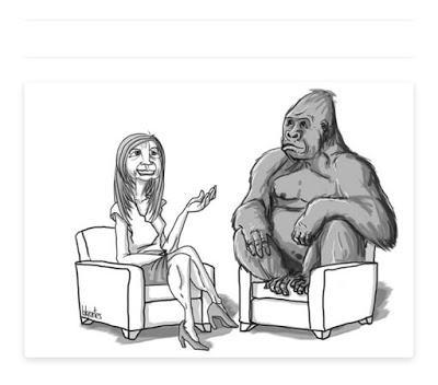 """Las excusas del gorila: """"Todos roban"""""""