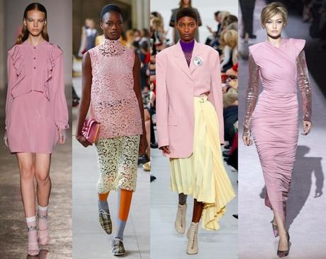 tendencias de moda pv18 pink lavanda