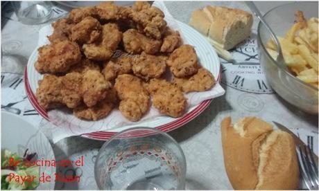 Pollo al estilo KFC