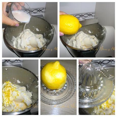 Tarta de mascarpone sin gluten